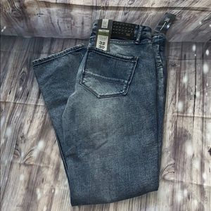 INC Berlin modern punk jeans slim straight men's